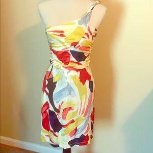 Women Fun Multi color dress XS